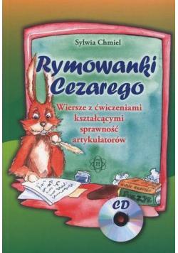 Rymowanki Cezarego + CD (komplet)