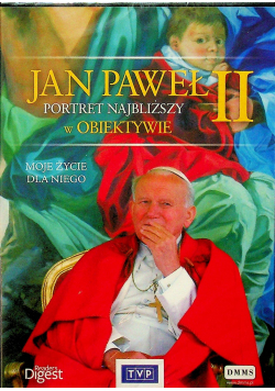Jan Paweł II portret najbliższy w obiektywie DVD NOWE