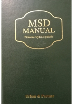 MSD Manual Podręcznik diagnostyki i terapii
