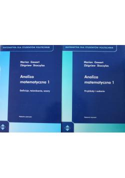 Analiza matematyczna 1 2 tomy