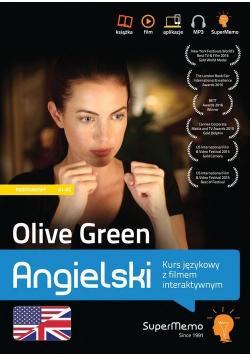 Olive Green Angielski Kurs językowy z filmem interaktywnym poziom podstawowy A1  A2