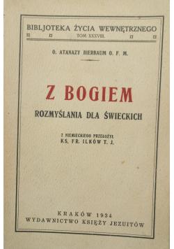 Z Bogiem rozmyślania dla świeckich 1934 r.