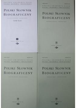 Polski Słownik Biograficzny Tom XLII 4 tomy
