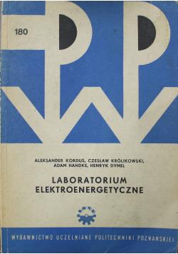Laboratorium elektroenergetyczne