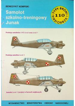 Typ broni i uzbrojenia Nr 110 Samolot szkolno - treningowy Junak