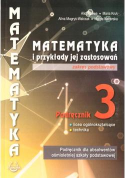 Matematyka i przykłady zast. 3 LO podręcznik ZP