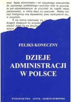 Dzieje administracji w Polsce
