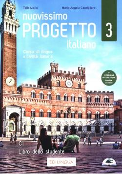 Nuovissimo Progetto italiano 3 Libro dello studente + CD