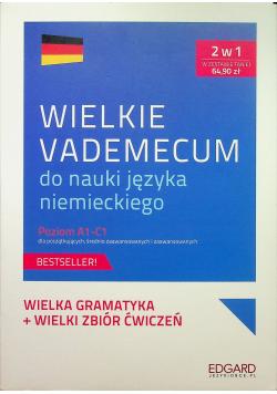 Wielkie vademecum do nauki języka niemieckiego Poziom A1 C1