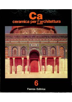 Ca ceramica per l architettura