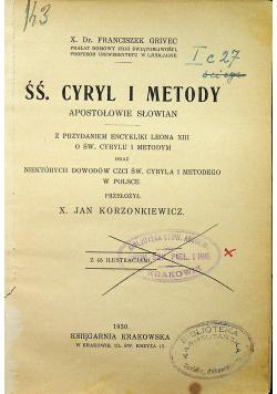 ŚŚ. Cyryl i Metody 1930 r.