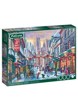 Puzzle 1000 Falcon Święta Bożego Narodzenia w NY