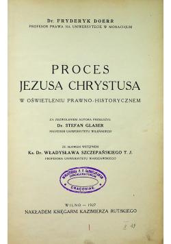 Proces Jezusa Chrystusa 1927 r
