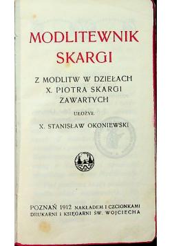 Modlitewnik Skargi 1912r