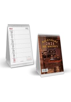 Kalendarz 2021 biurkowy pionowy - spirala SB3 SAPT