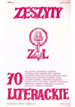 Zeszyty literackie 70 2/2000