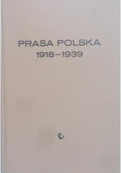 Prasa Polska w latach 1918 1939