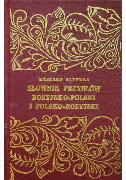 Słownik przysłów rosyjsko polski polsko rosyjski