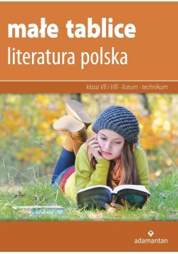 Małe tablice Literatura polska 2019
