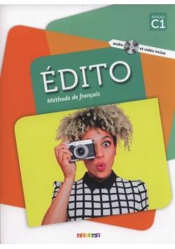 Edito C1 Methode de francais + DVD