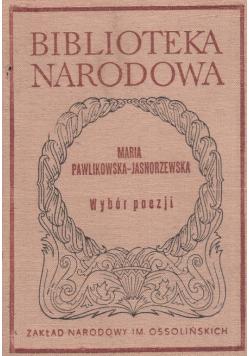 Pawlikowska Jasnorzewska Wybór poezji