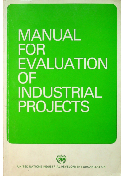 Manual for evaluation of industrial projects