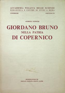 Giordano Bruno Nella Patria Di Copernico