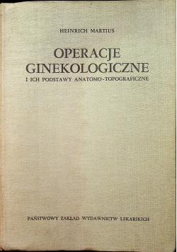 Operacje Ginekologiczne