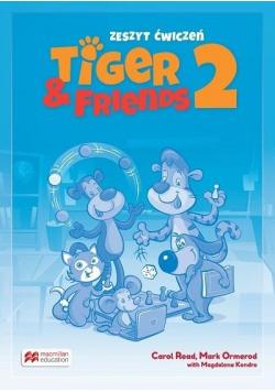 Tiger & Friends 2 WB + kod Student's App MACMILLAN