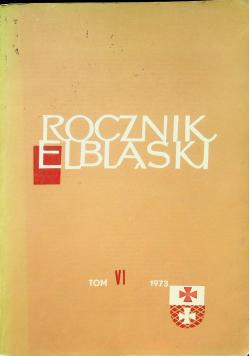 Rocznik Elbląski tom VI