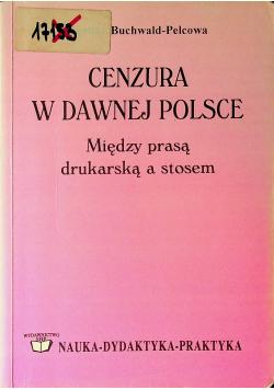 Cenzura w dawnej Polsce