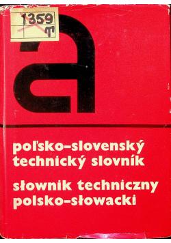 Słownik techniczny polsko słowacki
