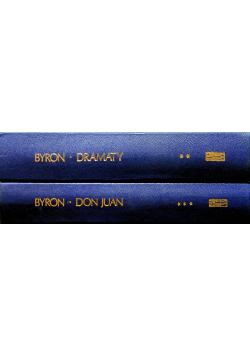 Byron Wybór dzieł 2 tomy