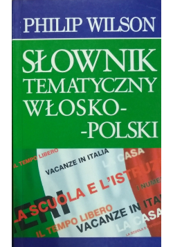Słownik Tematyczny Włosko - Polski