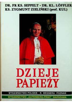 Dzieje Papieży dedykacja Zielińskiego