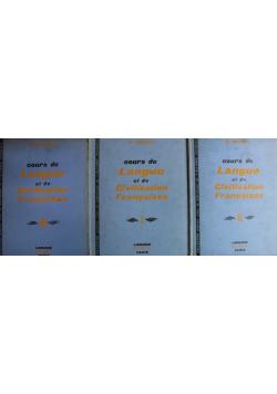 Cours de Langue et de Civisation Francaises 3 Tomy