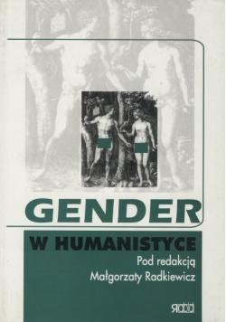Gender w humanistyce