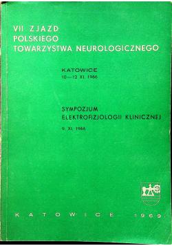 VII Zjazd polskiego towarzystwa neurologicznego