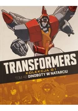 Transformers Tom 40 Dinoboty w natarciu