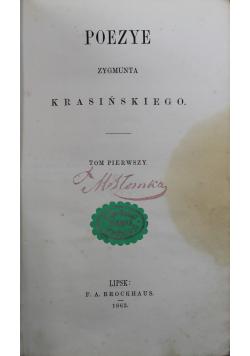 Poezye Krasińskiego tom 1 i 2
