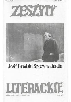 Zeszyty literackie 1996 nr 3 rok XIV Śpiew wahadła