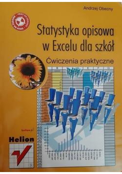 Statystyka opisowa w Excelu dla szkół