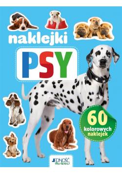 Psy. 60 kolorowych naklejek
