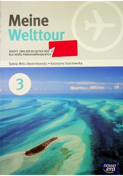 Język Niemiecki 3 Meine Welttour Zeszyt ćwiczeń