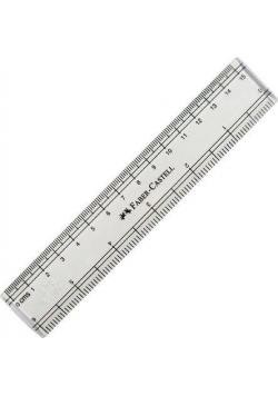 Linijka 15cm w etui FABER CASTELL