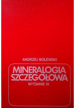 Mineralogia szczegółowa