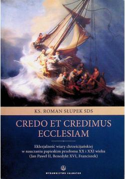 Credo et credimus Ecclesiam