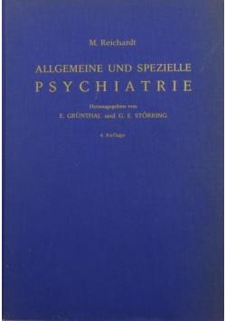 Allgemeine und spezielle Psychiatrie