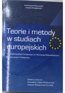 Teorie i metody w studiach europejskich