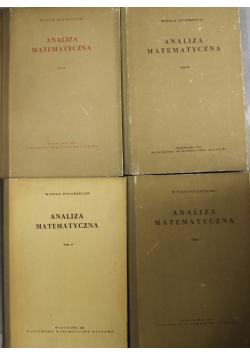 Analiza matematyczna 4 tomy